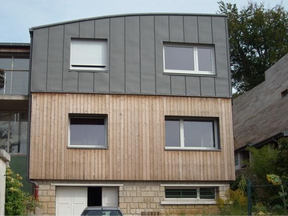 bardage zinc bois tendance bardage terrasse. Black Bedroom Furniture Sets. Home Design Ideas