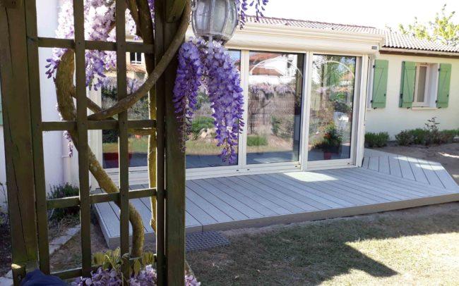 terrasse composite Silvadec Elegance 1
